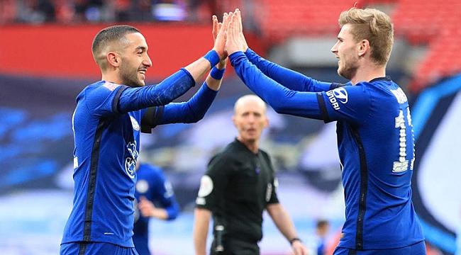 Chelsea'ye final için tek gol yetti