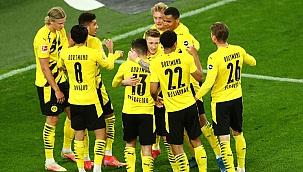 Dortmund hata yapmadı, 2 golle kazandı! Haaland...