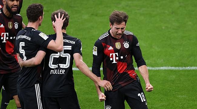Leipzig direnemedi, Bayern rahatladı