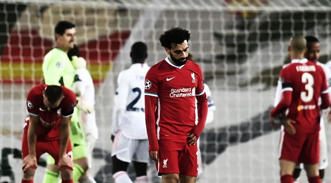 Liverpool, Anfield'da geri dönemedi