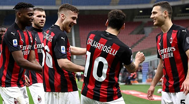 Milan ağır yaralı! Hakan'ın golü de yetmedi...