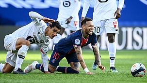 Paris'te tek golle kazandı, Lille zirveyi geri aldı!