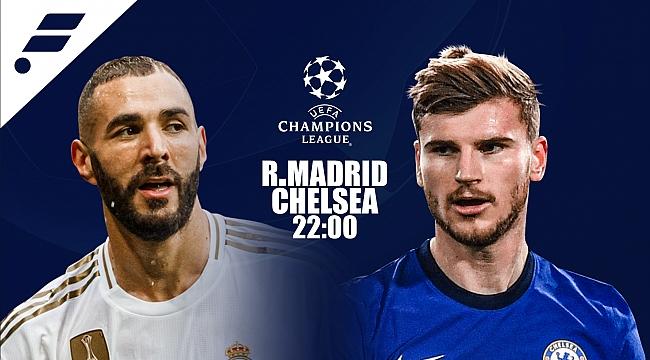 Real Madrid - Chelsea muhtemel 11'ler