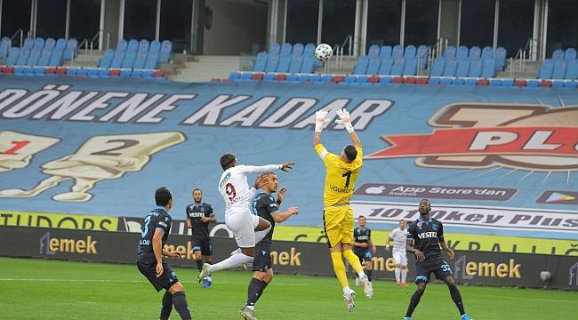 Trabzonspor 1 puana abone oldu