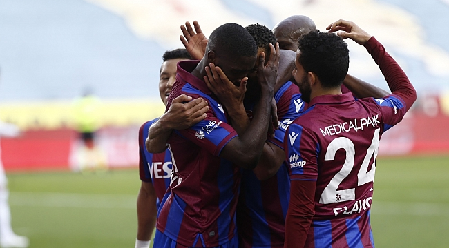 Trabzonspor 3 puan hasretine son verdi