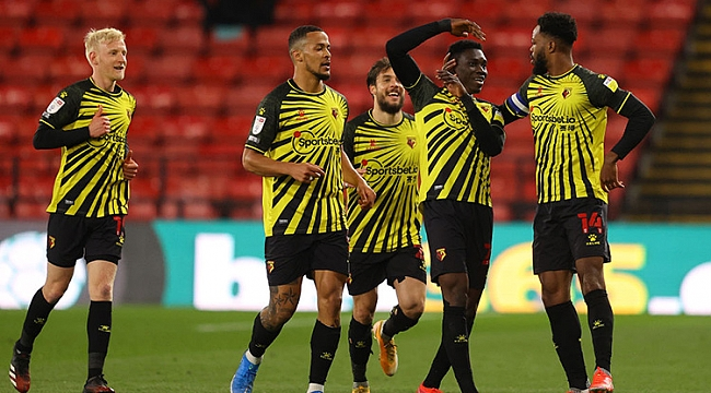 Watford yeniden Premier League'de! İkinci takım...