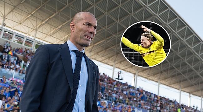 Zidane'dan Haaland sorusuna tepki