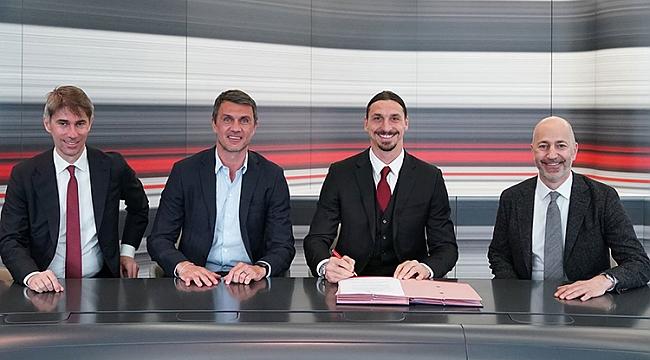 Zlatan Ibrahimovic resmi imzayı attı! 1 yıl daha...