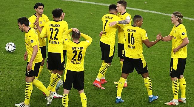 Almanya Kupası Borussia Dortmund'un!