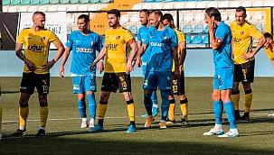Altay, tek golle 1. Lig'de play-off finalinde!