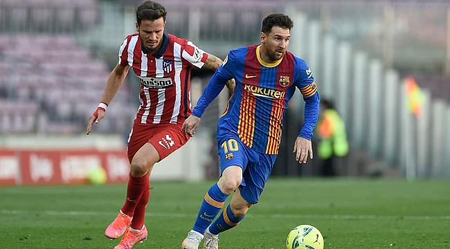 Atletico Madrid savundu, zirvede kaldı