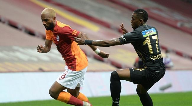 Galatasaray'a galibiyet yetmedi!