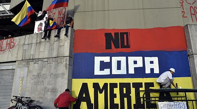 Kolombiya'nın 2021 COPA America ev sahipliği iptal
