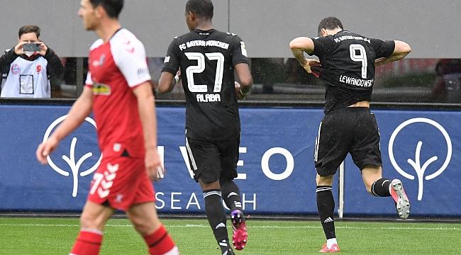 Lewandowski rekora ortak oldu, kaldı 1 gol...
