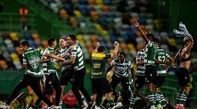 Portekiz'de Sporting yıllar sonra yenilgisiz şampiyon!
