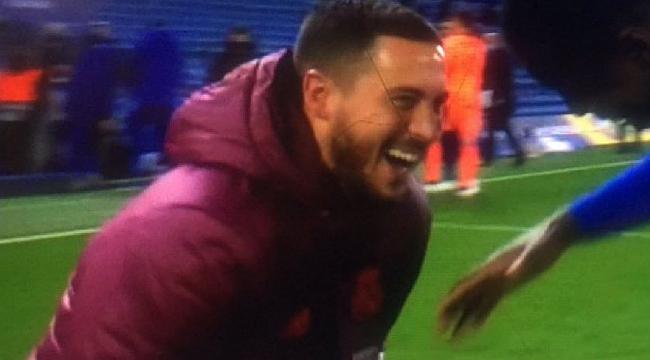 Real elendi, Hazard'ın görüntüsü tepki çekti