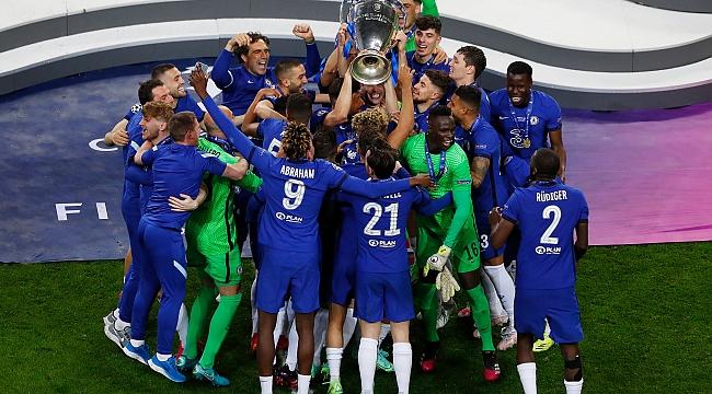 Şampiyonlar Ligi Chelsea'nin!