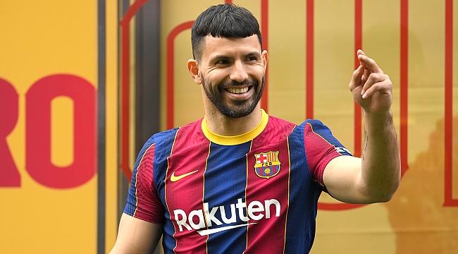 Sergio Agüero Barcelona'ya imza attı