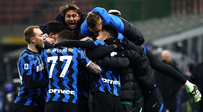 Serie A'da şampiyon Inter