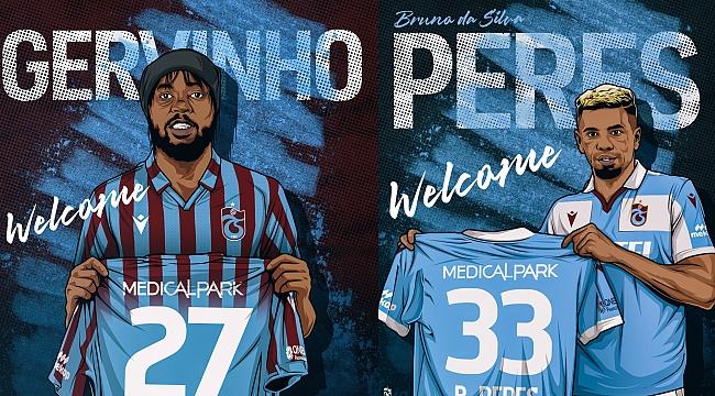 Trabzonspor'da iki imza atıldı