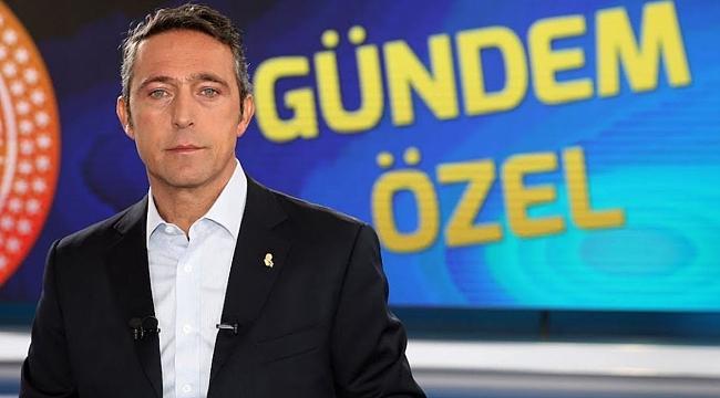 Ali Koç'un teknik direktör sürprizi