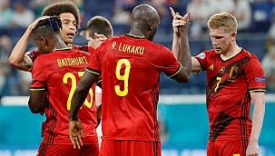 Belçika 3'te 3 yaparak bitirdi, Lukaku yine attı