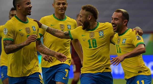 Brezilya COPA America'ya çok rahat başladı