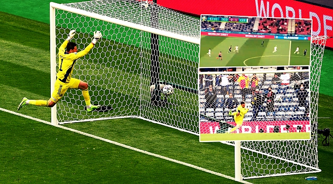 EURO2020'de 50 metreden gol!