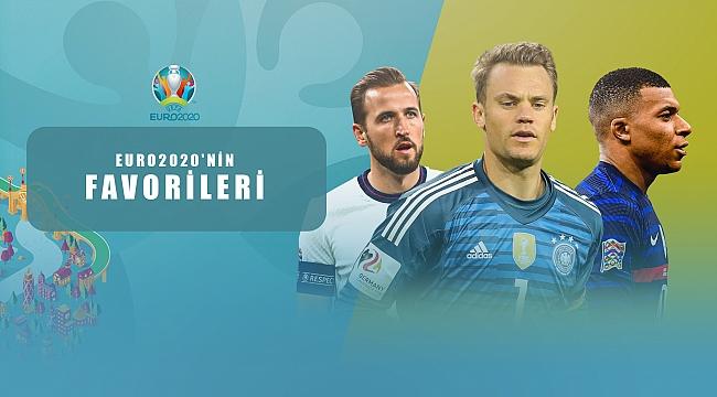 EURO2020'nin favori takımları