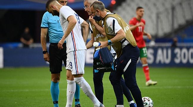 EURO2020 öncesi Fransa'da sakatlık