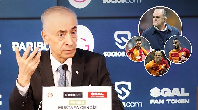 Fatih Terim, Falcao, FIFA, başkanlık!