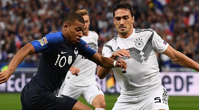 Fransa - Almanya muhtemel 11'ler