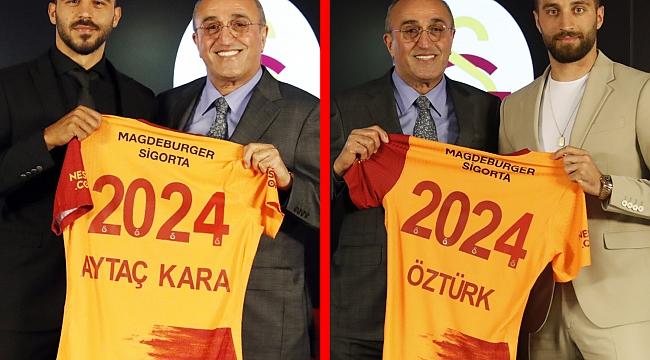 Galatasaray iki transferi de açıkladı