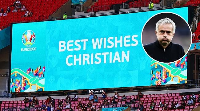 Jose Mourinho: ''Tam o an Tanrı futbol izliyordu''