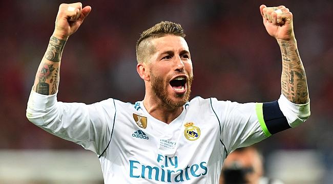 Sergio Ramos'un duygusal vedası!