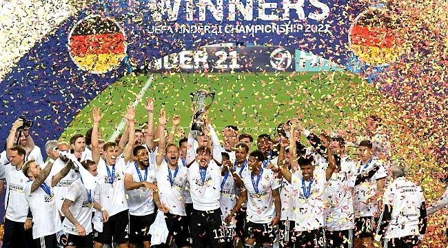 U21 şampiyonu Almanya!