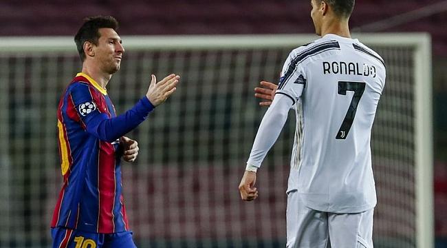 Efsaneler buluşuyor! Messi ve Ronaldo, Camp Nou'da...