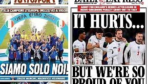 EURO2020'nin ardından Avrupa'da manşetler
