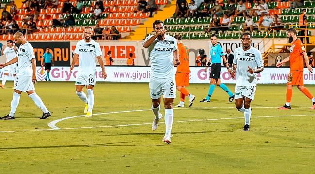 Altay dolu dizgin ilerliyor! Alanya'da tam 5 gol