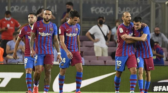 Barça, Messi olmadan gol şov yaptı
