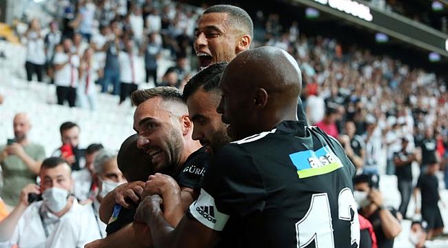 Beşiktaş açılışı 3 golle yaptı