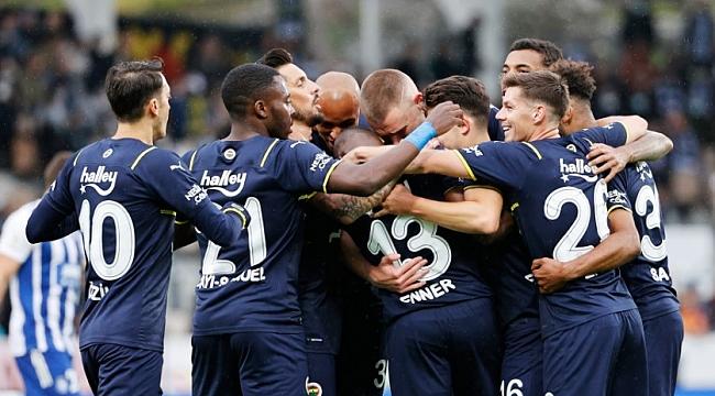 Fenerbahçe'den 5 gollü galibiyet!