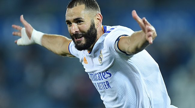Karim Benzema imzayı attı