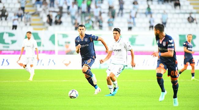 Konyaspor'dan 2'de 2, Başakşehir'den 2'de 0