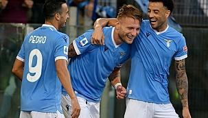 Lazio'dan 6 gollü şov! Immobile erken bitirdi