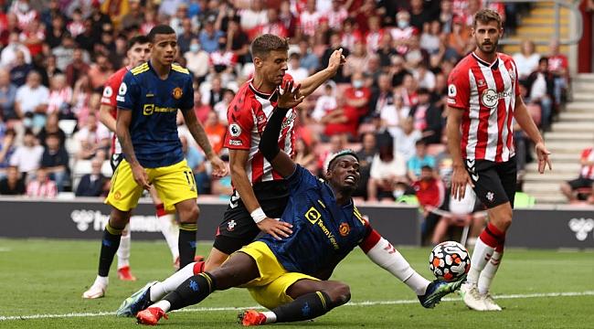 Manchester United'a Soton engeli