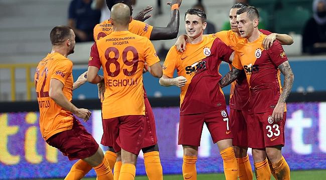 Olaylı gecede Galatasaray kazandı