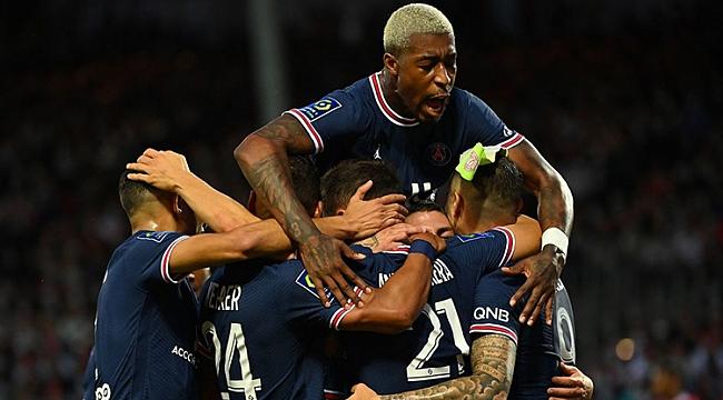 PSG 6 gollü düelloyu kazandı! Kayıp yok