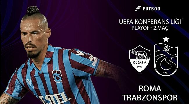 Roma-Trabzonspor muhtemel 11'ler
