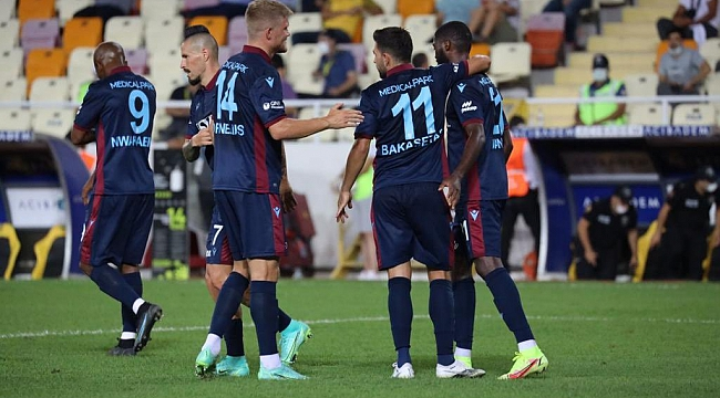 Trabzonspor'dan müthiş başlangıç!